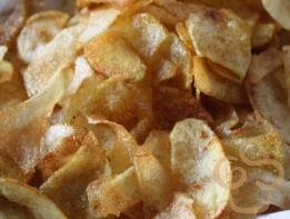 Homemade chips/crisps