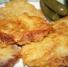 Ruffled schnitzel