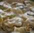 Ravioli with cucumbers