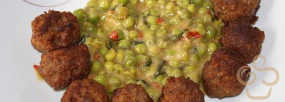 Green pea dish