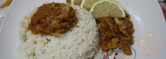Fish paprikash