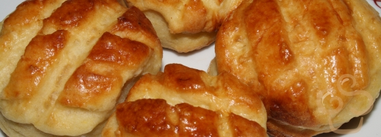 Salty cakes with cottage cheese