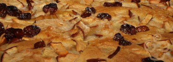 Almás palacsintás süti