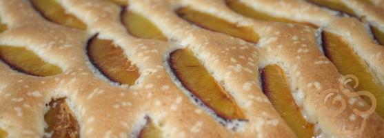 Prăjitură  cu prune pe bază de ulei